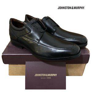 Johnston & Murphy Leather Apron Toe Dress Shoes